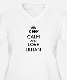 Keep Calm and Love Lillian Plus Size T-Shirt