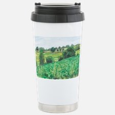 sunflowers_and_soybeans Stainless Steel Travel Mug
