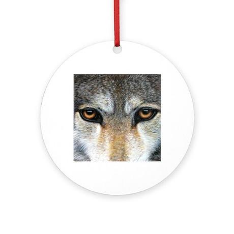 Wolf Eyes 1000 Round Ornament
