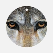 Wolf Eyes  1000 Round Ornament