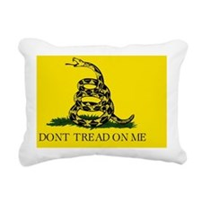 Don't Tread On Me Rectangular Canvas Pillow