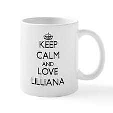 Keep Calm and Love Lilliana Mugs