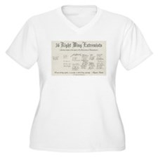 56_extremists.png Plus Size T-Shirt