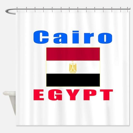Cairo Egypt Designs Shower Curtain