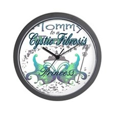 Mommy-to-a-Princess-CF-Warrior-multi Wall Clock