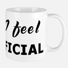 Today I feel superficial Mug