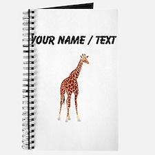 Custom Giraffe Journal