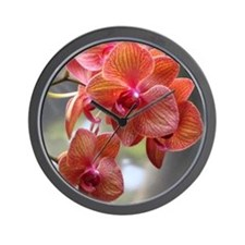 Cymbidium Orchids Wall Clock