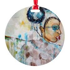 tiffany baca blue Ornament