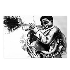 Jazz Postcards (Package of 8)