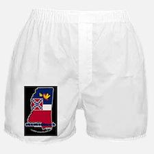 MSstateFlagILYbbt Boxer Shorts