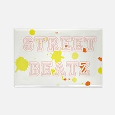 2-streetbeatzcp Rectangle Magnet