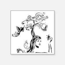 "cafepress_apple3 Square Sticker 3"" x 3"""