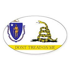 Massachusetts-Gadsden Decal