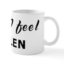 Today I feel sullen Mug