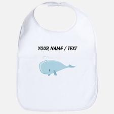 Custom Blue Whale Bib