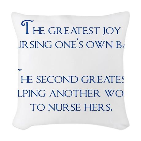 2-joy Woven Throw Pillow