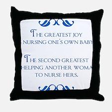 2-joy Throw Pillow