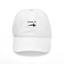 Custom Orca Whale Baseball Baseball Cap