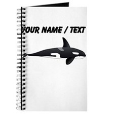 Custom Orca Whale Journal