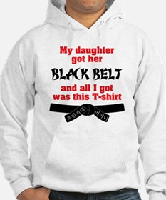 BLK - Mom to Daughter-01 Hoodie