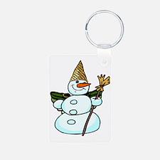 snowmannola2tra Keychains