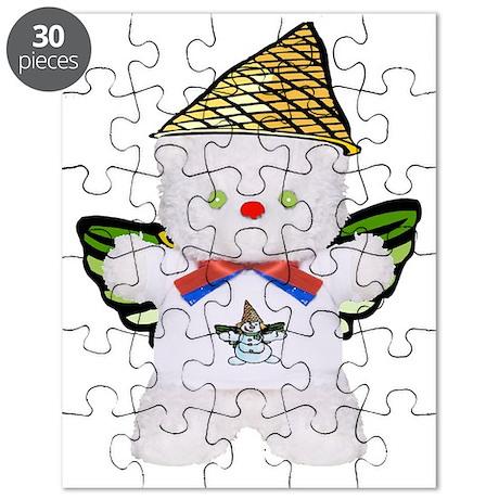 TeddyChristmasWingedtr Puzzle