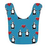 Penguins In Love Bib