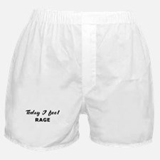 Today I feel rage Boxer Shorts