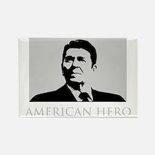 American-Hero-(dark-shirt) Rectangle Magnet