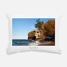 Chapel Rock Rectangular Canvas Pillow