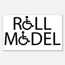 rollmodel Sticker (Rectangle)