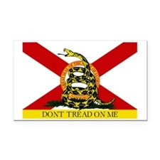 Florida-Gadsden Rectangle Car Magnet