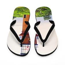 gay head lighthouse Flip Flops