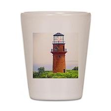 gay head lighthouse Shot Glass