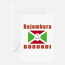 Bujumbura Burundi Designs Greeting Card