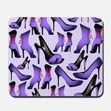 Purple High Heels Mousepad