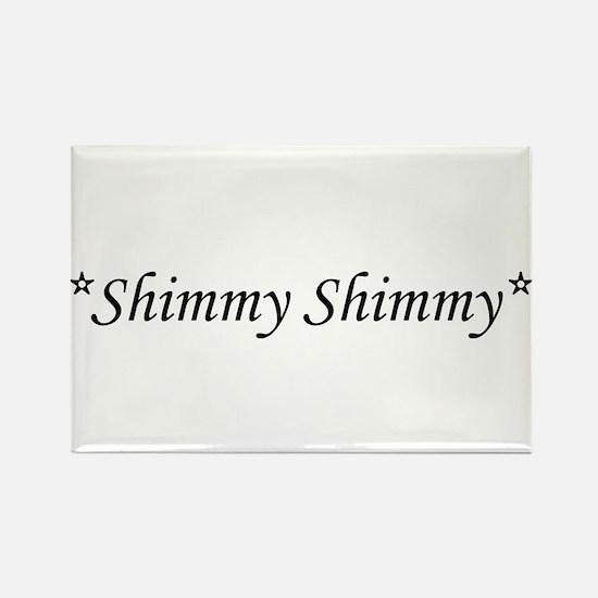 Shimmy Rectangle Magnet