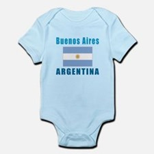 Buenos Aires Argentina Designs Infant Bodysuit