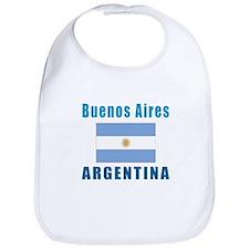 Buenos Aires Argentina Designs Bib