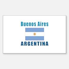 Buenos Aires Argentina Designs Decal