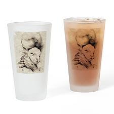 jesus7 Drinking Glass