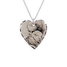 jesus7 Necklace Heart Charm