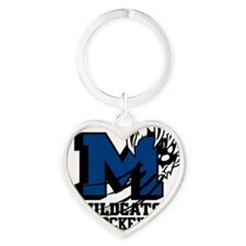 mesquite_3 Heart Keychain