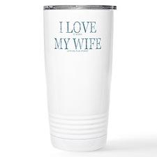 POKER BLUE Travel Mug