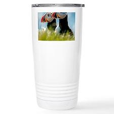Puffin Pair 14x14 600 dpi Thermos Mug