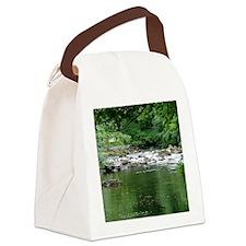 Mountain stream Canvas Lunch Bag