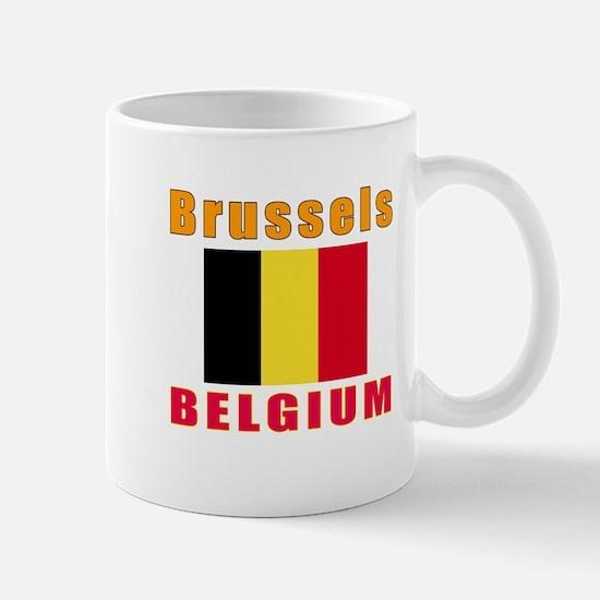 Brussels Belgium Designs Mug