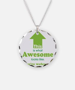 Awesome_lime Necklace