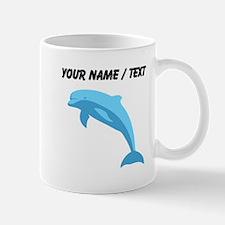 Custom Blue Dolphin Mugs